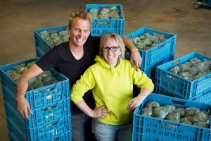 René Verdonk en Sabine Van den Berg