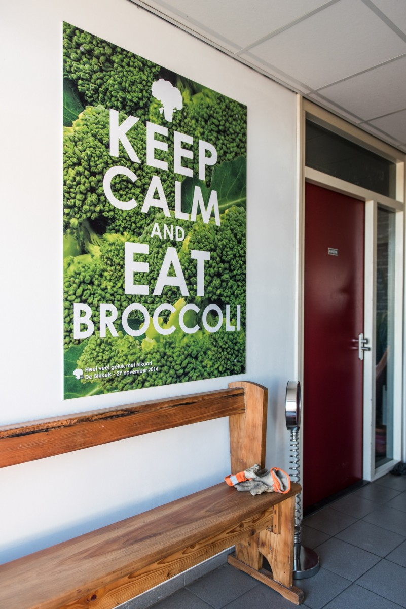 Keep Calm & Eat Broccoli