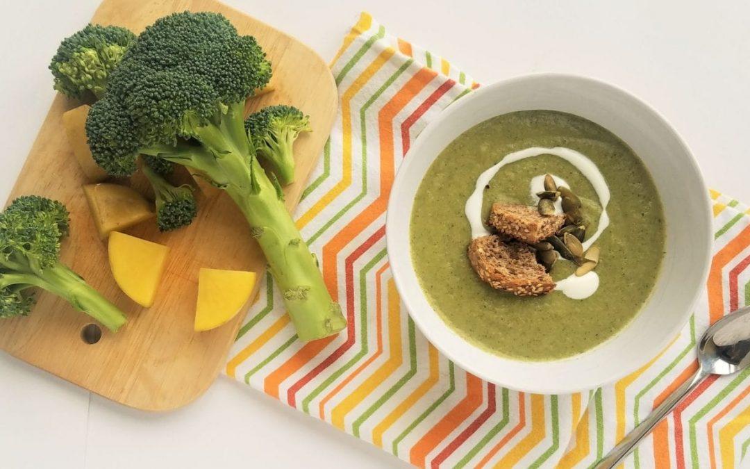 Broccoli-aardappelsoep