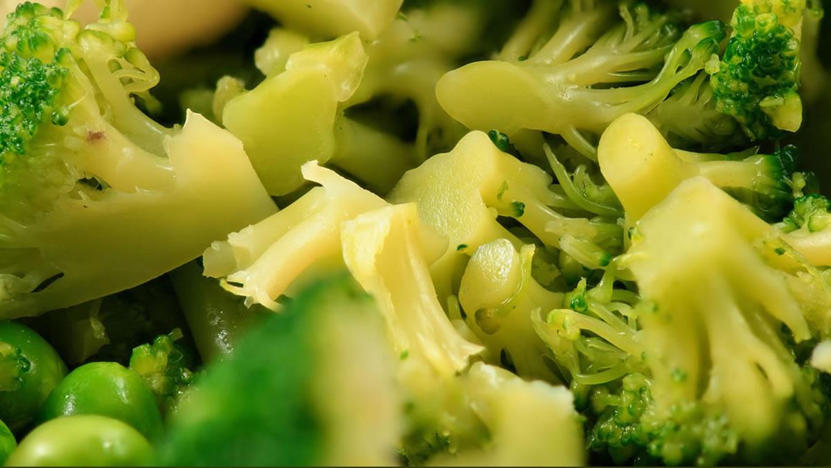 gesmoorde broccoli
